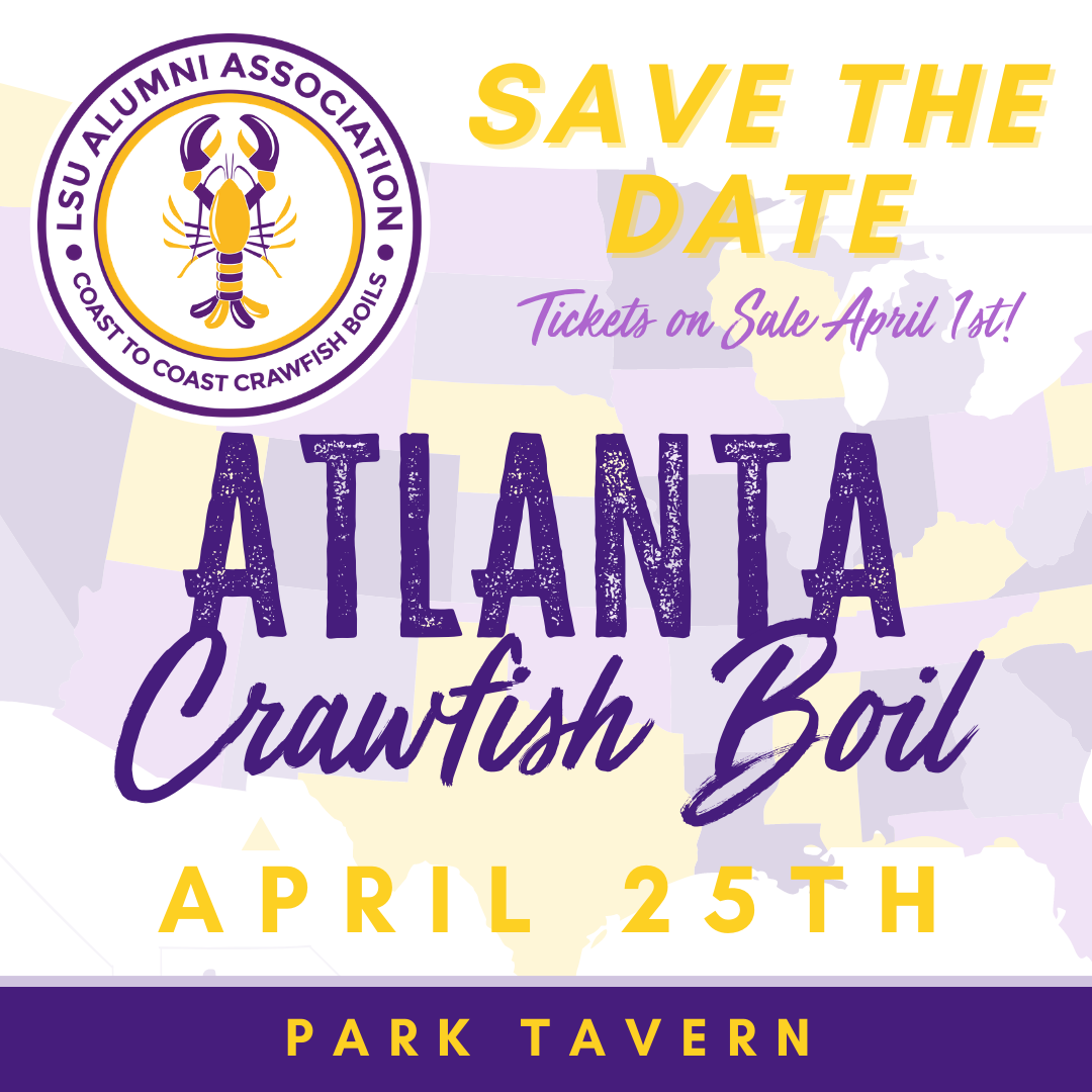 LSU crawfish boil